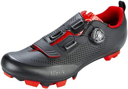 Fizik Terra X5 - Zapatillas Hombre - Rojo/Negro Talla del Calzado EU 43 2019