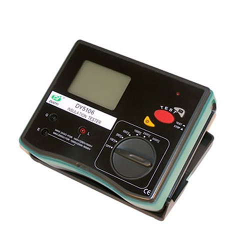 DUOYI DY5106A Digital Multimeter Tester Electrical Instrument 5000V Insulation Resistance Tester Megohmmeter by Yi Duo