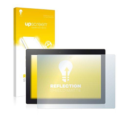 upscreen Entspiegelungs-Schutzfolie kompatibel mit Lenovo Tab3 10 Plus – Anti-Reflex Bildschirmschutz-Folie Matt