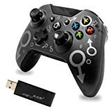 Wireless Controller for Xbox One/One S/One X/P3 Host Console/Windows 7/8/10 , Wireless Gamepad with Wireless Adapter