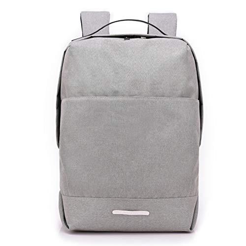Panda Rucksack - Business-Laptop-Rucksack Mit USB-Ladeanschluss Ultradünner Wasserdichter Rucksack,LightGray