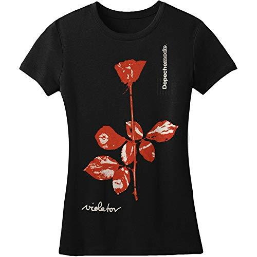 T-shirt Depeche Mode Violator pour femme Noir -  Noir - Large