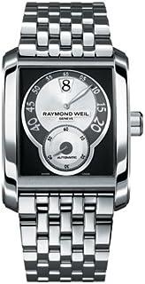 Raymond Weil - 4400-ST-00268 - Reloj analógico automático para Hombre, Correa de Acero Inoxidable Color Plateado