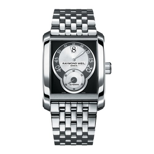Raymond Weil 4400-ST-00268 - Reloj analógico automático para Hombre, Correa de Acero Inoxidable Color Plateado