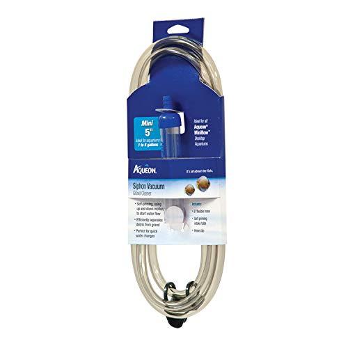 Aqueon Siphon Vacuum Gravel Cleaner Mini - 5 Inches