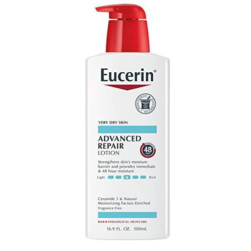 Eucerin Advanced Repair, Loción para piel seca 16.9onzas
