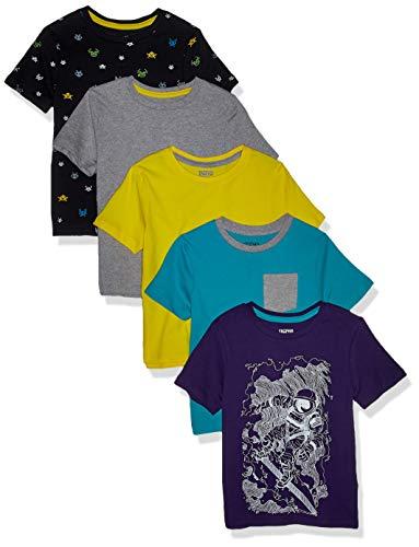 Marchio Pacco da 5 Spotted Zebra 5-Pack Long-Sleeve T-Shirts Bambino