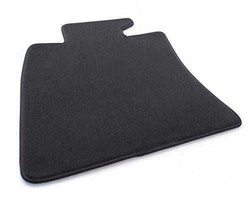 Tapis de sol côté conducteur Mini R55 R56 En velours noir
