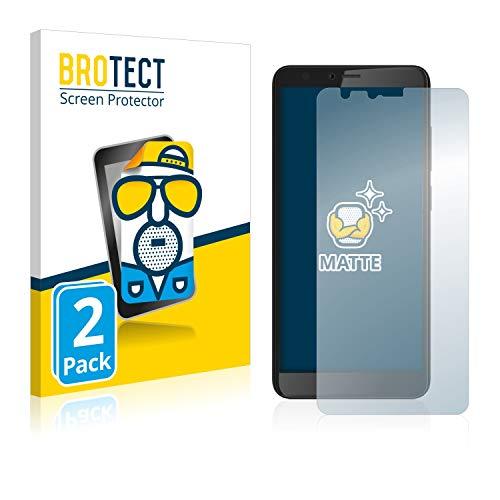 BROTECT 2X Entspiegelungs-Schutzfolie kompatibel mit Gigaset GS100 Bildschirmschutz-Folie Matt, Anti-Reflex, Anti-Fingerprint