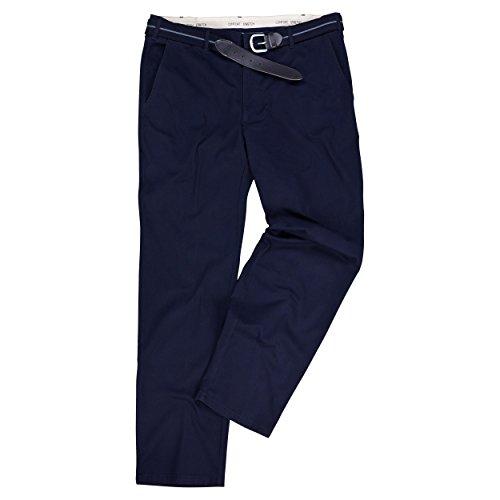 Over-Size Übergrößen Hose mit Dehnbund Farbe Navy in den Größen 61-75