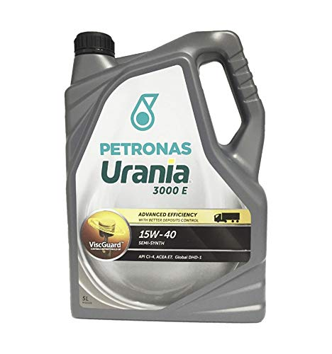 Aceite Camion Urania 3000E 15w40 5Ltrs