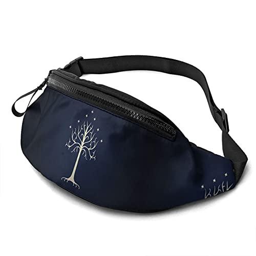 Señor anillos cintura bolsa casual auricular agujero honda moda cadera cintura señoras hombres al aire libre ocio viajes senderismo ciclismo ejercicio
