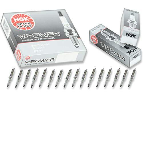 16 pcs NGK V-Power Spark Plugs for 2003-2008 Dodge Ram 1500 5.7L V8 5.7L - Engine Kit Set Tune Up