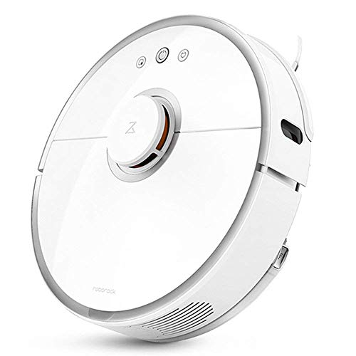 Roborock S50 Robotic Vacuum and Mop Cleaner, 2000Pa Super Power Suction & Wi-Fi Connectivity and Smart Navigating Robot Vacuum with 5200mAh Battery Capacity for Pet Hair, Carpet & Hard Floor