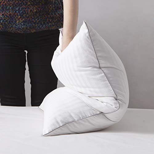 LOVSOUL Goose Down Pillow Queen Size Pillow 1000 Thread Count 100% Egyptian Cotton