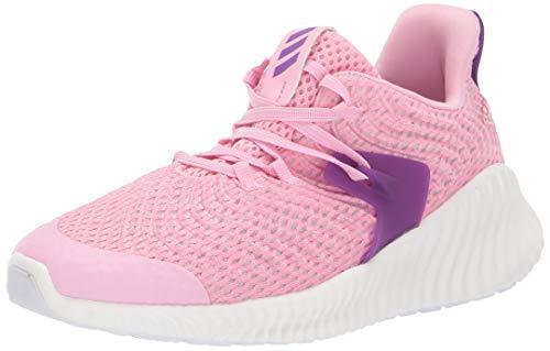 Adidas Kids Alphabounce Instinct, True Pink/Active Purple/Cloud White, 4.5 M US Big Kid