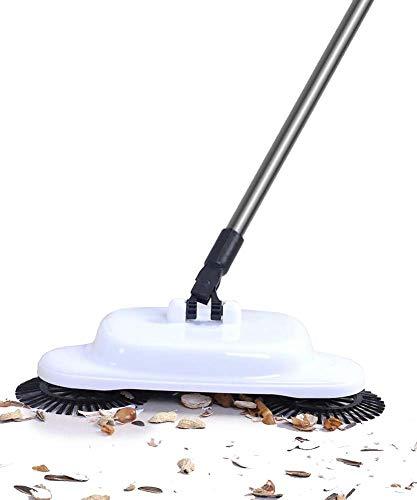 Lichtgewicht draadloze spinningbezem - 360° draaiende reinigingsborstel - 3-in-1 bezem + stofzuiger + dweil - voor het reinigen van de vloer thuis