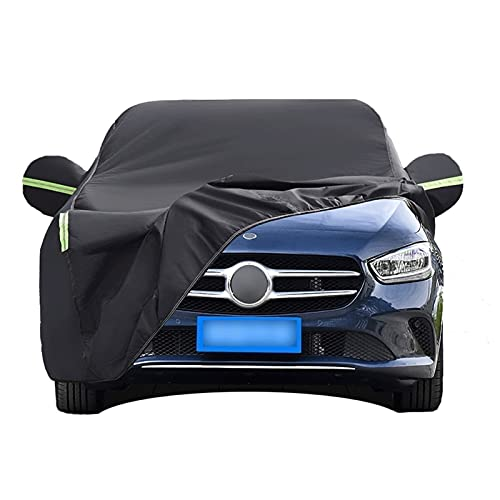Cubierta de Coche compatible con Maserati,Quattroporte Ghibli GranTurismo GranCabrio Levante/Impermeable Funda de Coche Exterior Hatchback Anti-UV Transpirable Resistente al Polvo Lluvia Rasguño Nieve