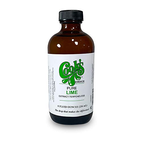 Cook's Pure Lime Extract 8 oz