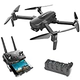 HUBSAN Zino Pro 4k Drones with Camera and GPS for Adults,4KM 5G WiFi Live Video RC Quadcopter with 3-Aix Adjustable Gimbal,Panorama,Auto Return Home,Image Tracking,23Mins Flight Time Brushless Motor