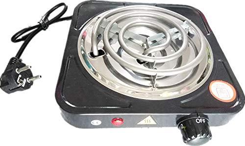Encendedor eléctrico de carbón para shisha (1500 W), color negro