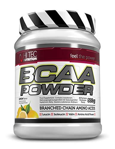 Hi Tec Nutrition BCAA 500g Powder Lemon