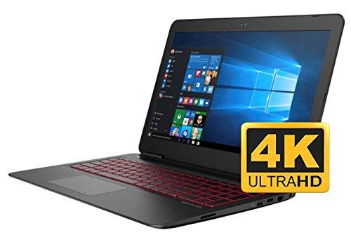 HP OMEN 15 UHD 4K Gaming Laptop PC (Intel i7 Processor, 2TB HDD +128GB SSD, 15.6 inch UHD 3840 x...