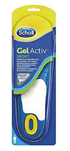 Scholl Solette Scarpe Sportive Gel Activ Sport per Uomo, 40-46.5 EU, 1 Paio
