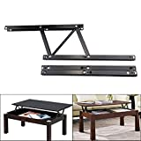 Sauton Coffee Table Lift Mechanism, Lift up Coffee Table Hardware, Black Spring Stand Furniture Hinges