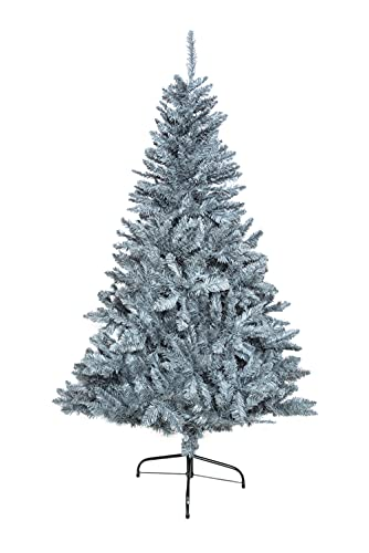 SHATCHI Bushy Imperial Pine Artificial Deluxe Christmas Tree Hinged...
