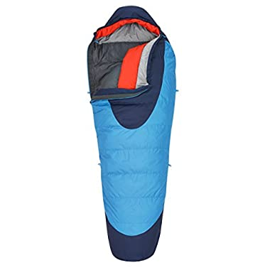 Kelty Cosmic 20 Degree Sleeping Bag, Regular, Paradise Blue/Twilight