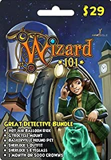 Wizard 101 Great Detective Bundle Prepaid Game Card