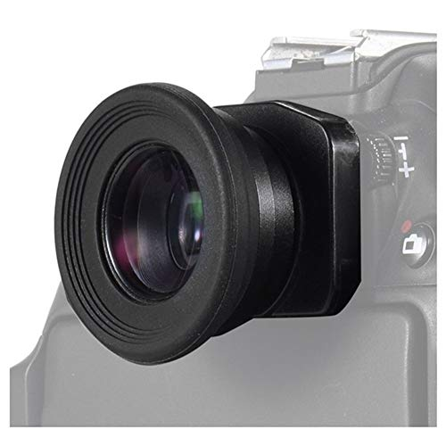 BAN SHUI JU MINSU GUANLI 1.51X Lupa Ocular con Visor De Foco Fijo, Ocular, Compatible con Canon Nikon Sony Pentax Fujifilm Samsung Sigma Minoltaz DSLR (Color : Black)