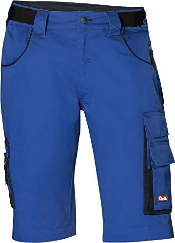 FORTIS Herren Bermuda/Arbeitshose kurz 24 blau/schwarz Gr.56