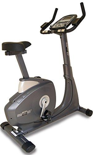 Ergometer MAXXUS Bike 7.0. Tiefer Einstieg, elektr. gesteuertes Magnetbremssystem, Trainingsprogramme, Pulsmessung, HRC-Receiver