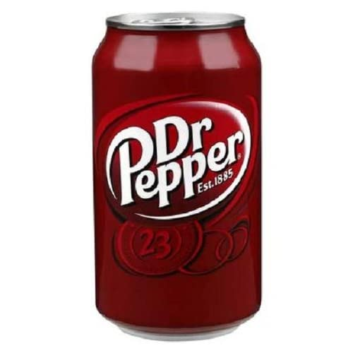 Amazon Com Dr Pepper 12 Ounce Cans Pack Of 24 Soda Soft