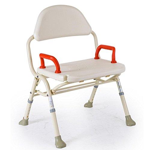 Heruai Old Man Silla de baño Aleación de Aluminio Plegable Ampliación Silla de Ducha Silla de baño Sillón de baño Non-Slip Cuidado médico Professional Chair Adjustment Sillón de Nivel
