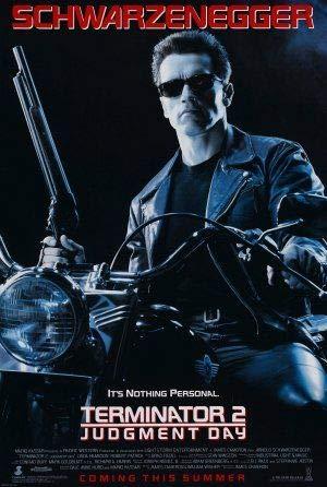 Terminator 2 Judgement Day – Film Poster Plakat Drucken Bild – 43.2 x 60.7cm Größe Grösse Filmplakat Schwarzenegger