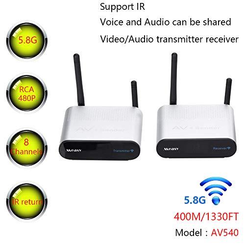 MEASY AV540 5.8GHz 8 Channel 400...