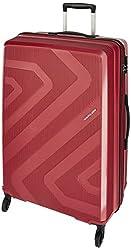 Kamiliant by American Tourister Kam Kiza Polypropylene 79 cms RUBY RED Hardsided Check-in Luggage (KAM KIZA SP 79CM - RUBY RED),SAMSONITE SOUTH ASIA PVT LTD,KAM KIZA SP 79CM - RUBY RED
