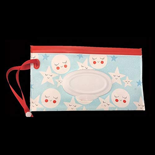 Clutch Bag Clean Wet Wipes Suitcase Environmentally Friendly Wet Wipes Bag Clamshell Makeup Bag Portable snap Wet Tissue Box Baby Wet Wipes Baby