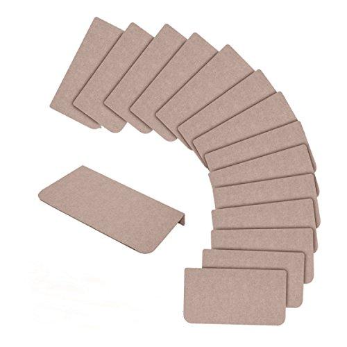 ANHPI Innen- Treppenmatte Rutschfeste Matten Faser Hochwertig Selbstklebend Massiv Sicher Dicke: 4mm 45 * 21cm EIN Paket 1,Beige-45 * 21cm