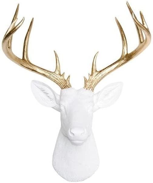 Near Deer ND0108 人造动物标本 14 点鹿头壁山白金