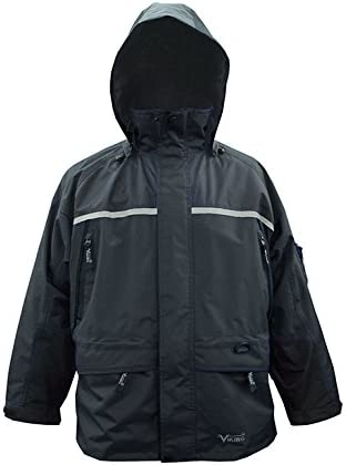 Viking Tempest Tri-Zone Waterproof and Windproof Insulated Winter Jacket with Reflective Piping