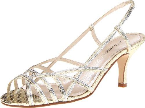 Caparros Women's Estella Sandal,Gold,5.5 M US