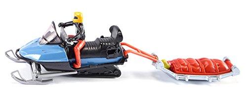 Siku 1684 Snowmobil mit Rettungsschlitten, bunt