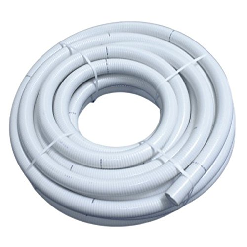 Couronne 40m Tuyau Piscine PVC Pression Souple Semi-Rigide à coller diamètre 50mm⌀ extérieur
