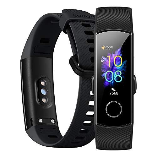 Honor Band 5 wasserdichter Bluetooth Fitness Aktivitätstracker mit Herzfrequenzmesser, AMOLED-Farbdisplay, Touchscreen, Meteorite Black - 3