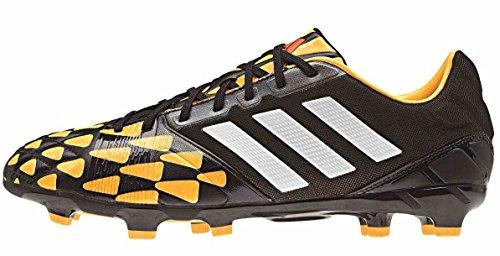 adidas Performance, Scarpe da calcio uomo Nero / arancio 10,5 UK - 45,1 / 3 EU