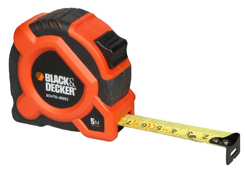 Black + Decker BDHT0-30092 Flexibel meetlint, 5 m